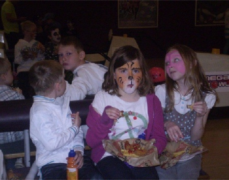 Face Painting and Food